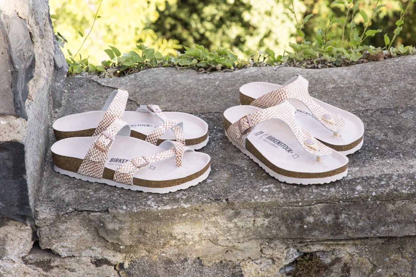 Birkenstock Gizeh Mermaid Cream
