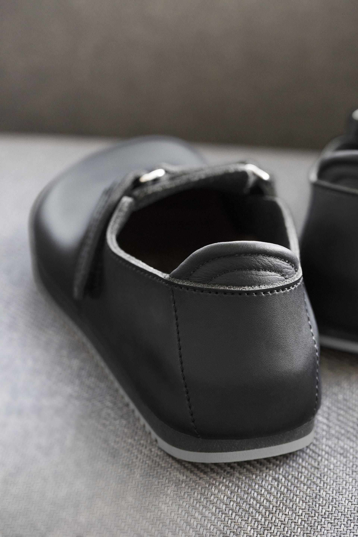 b195aaea1e7a ... Preview  Birkenstock Linz Black Natural Leather Super Grip Sole