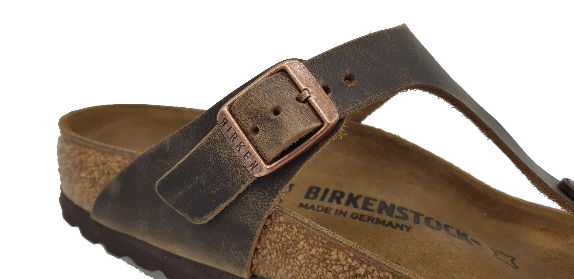 Birkenstock Gizeh Tabacco Brown Vintage