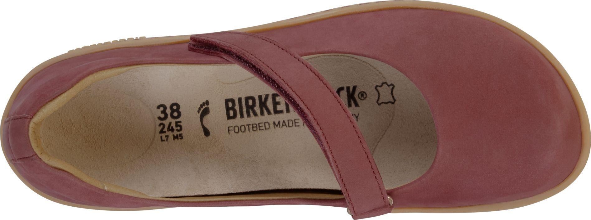 Birkenstock Lora Wine Nubukleder