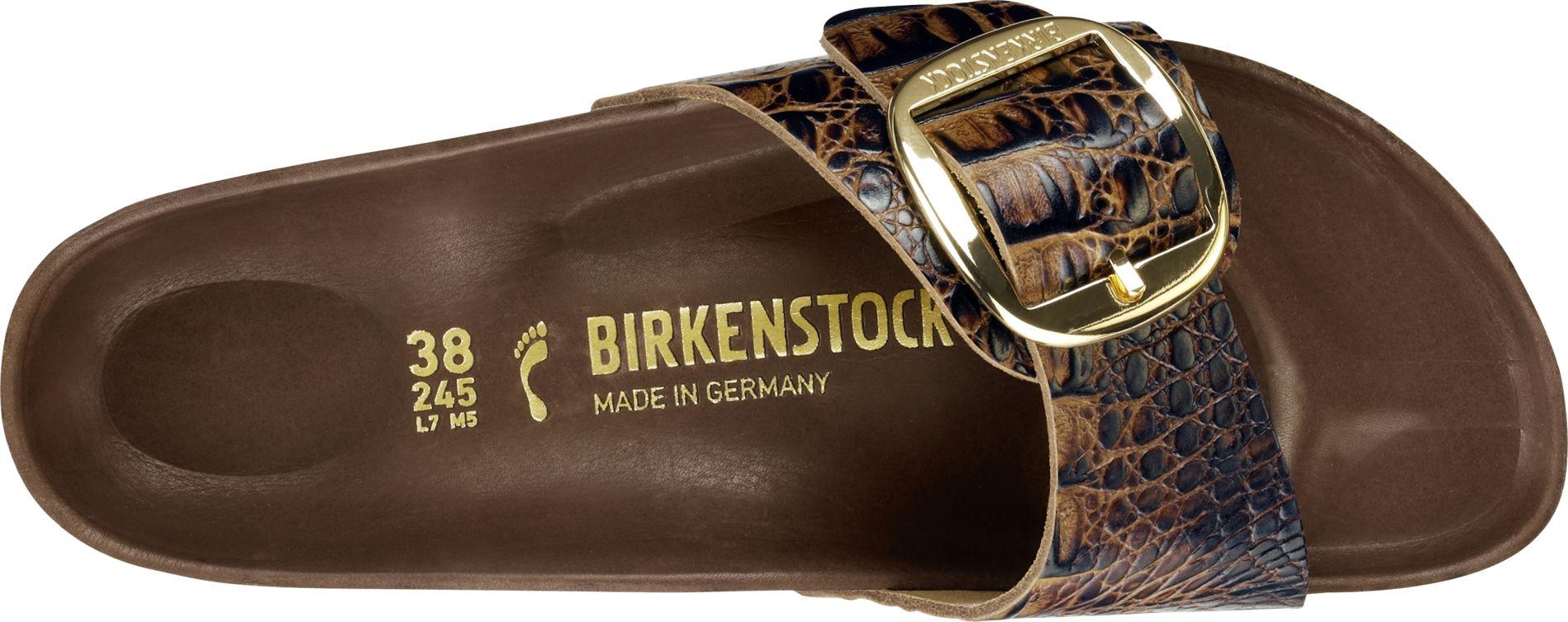 b69f771cfd2 ... Preview  Birkenstock Madrid Big Buckle Gator Brown