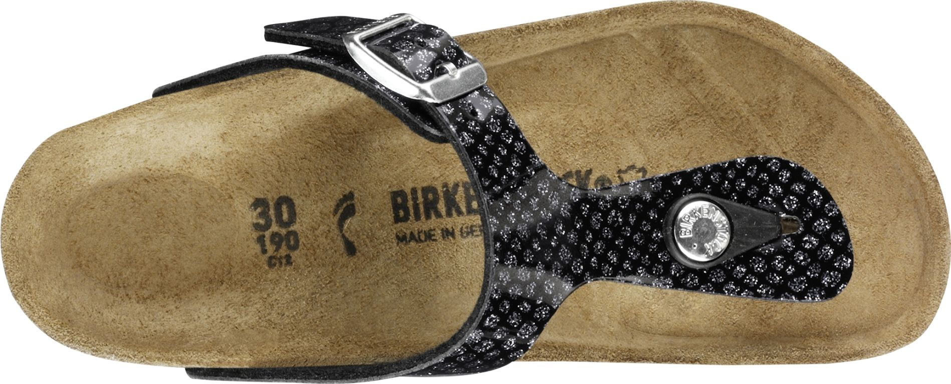 8dc17b2715e2 ... Preview  Birkenstock Gizeh Kids Magic Snake Black-Silver