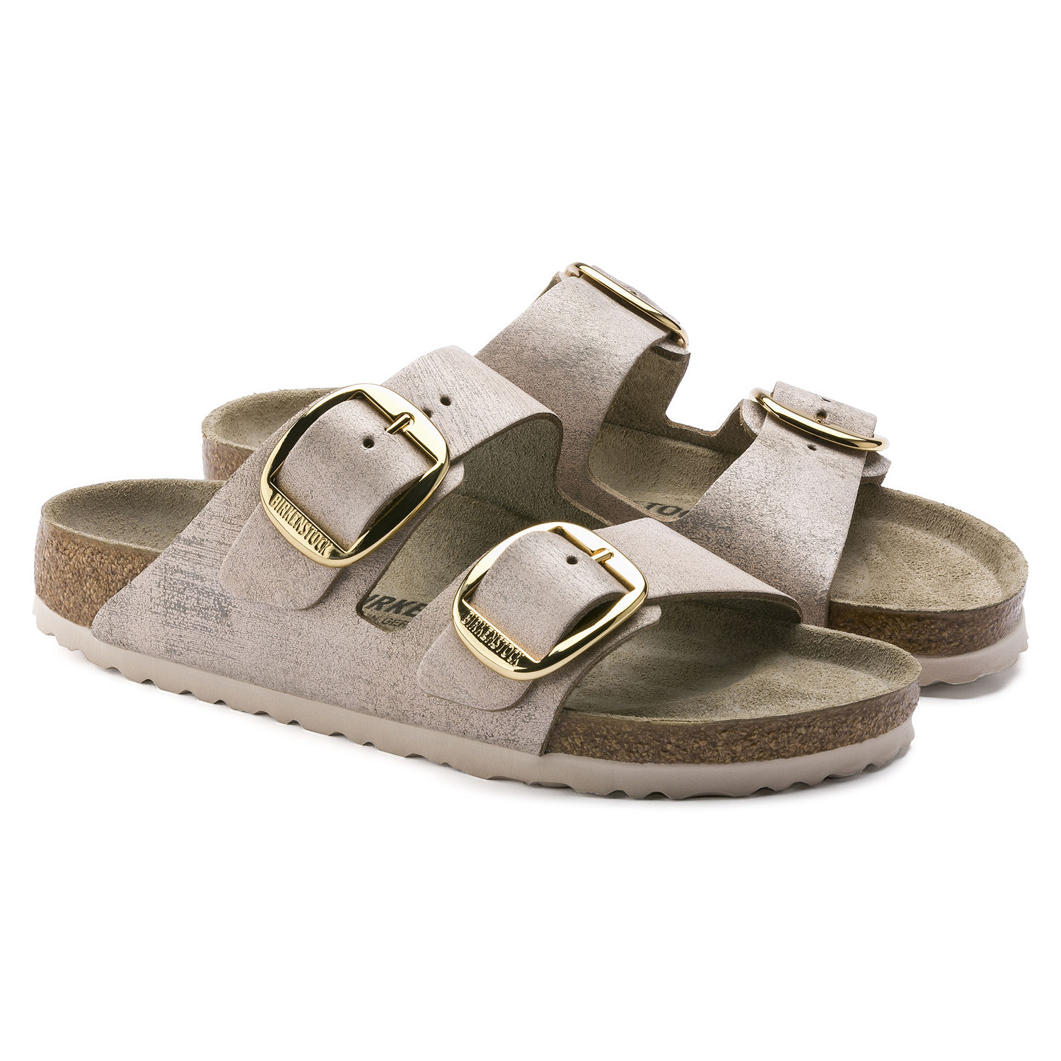 13a535ae7a8 ... Preview  Birkenstock Arizona Big Buckle Washed Metallic Rose Gold ...
