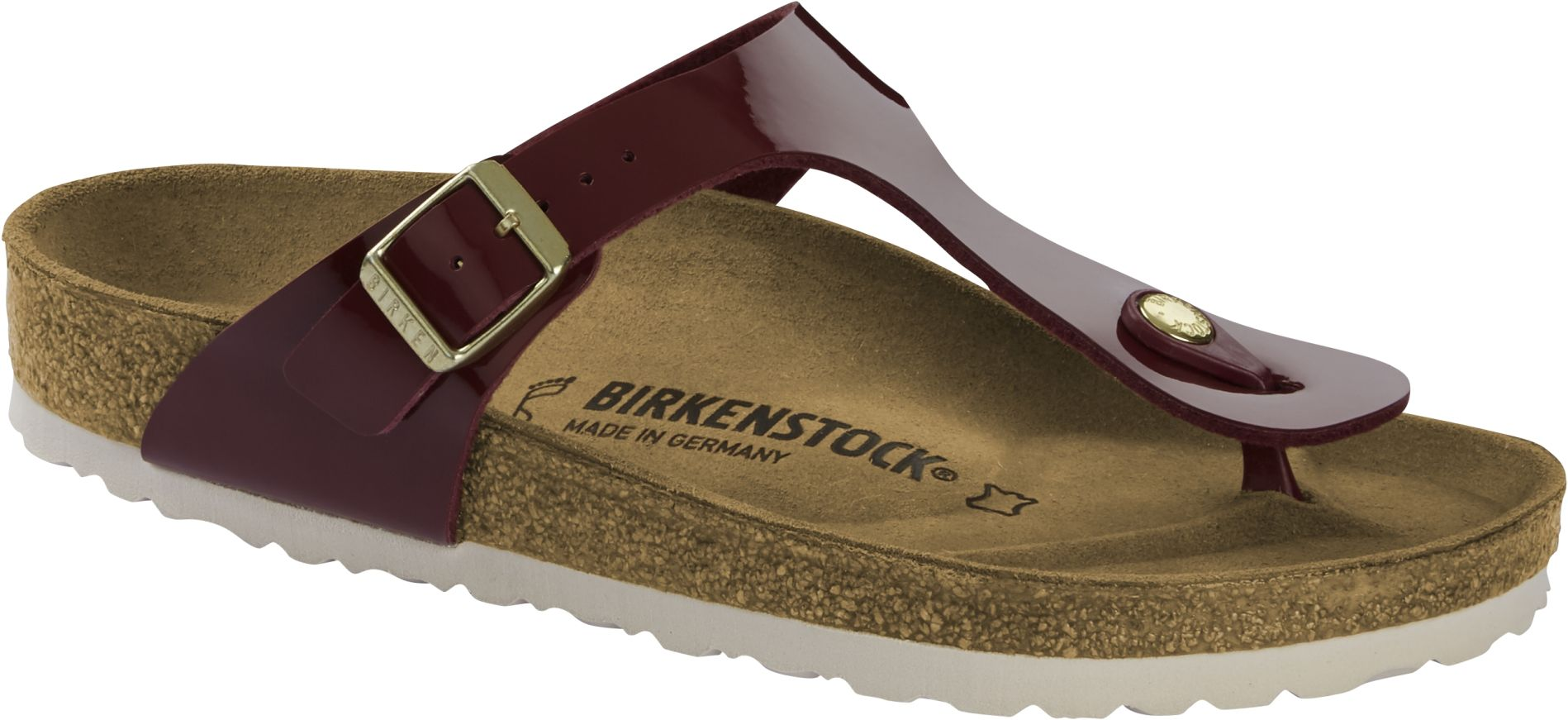 Birkenstock Gizeh Patent Bordeaux