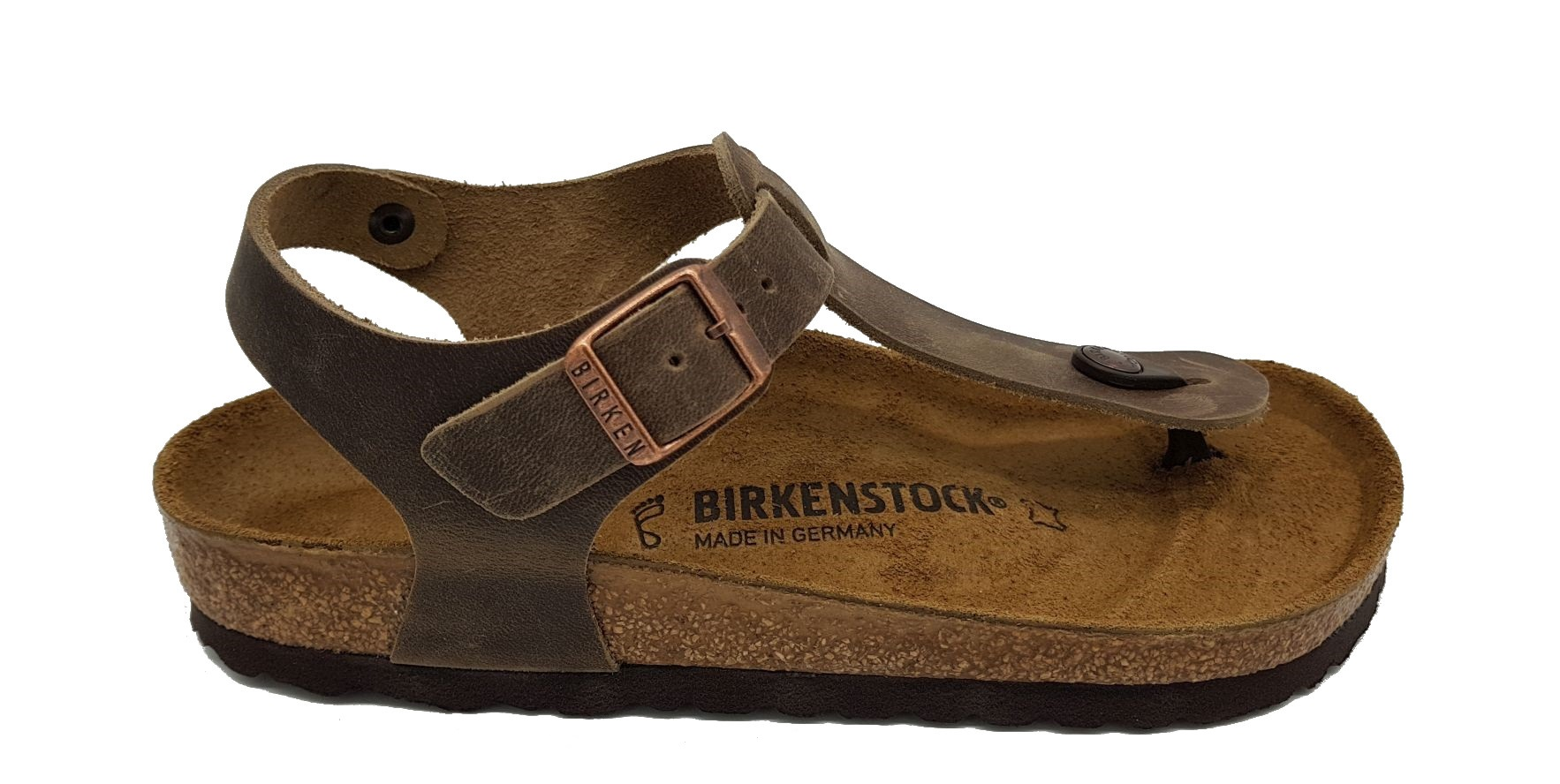 12a031d32b0 ... Vista previa  Birkenstock Kairo Tabacco Brown Waxy Leather ...