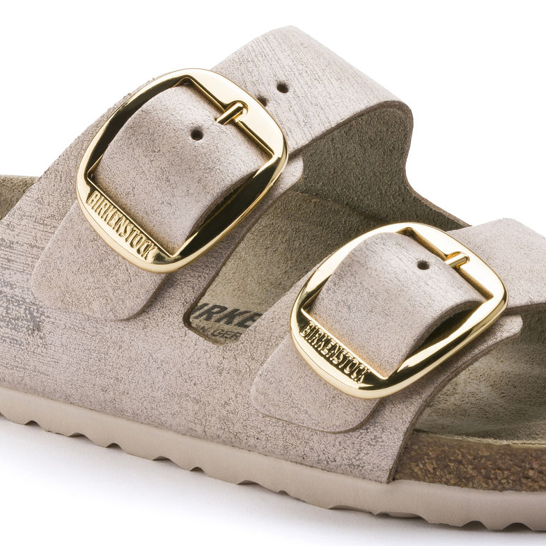 00db45a3804 ... Preview  Birkenstock Arizona Big Buckle Washed Metallic Rose Gold ...