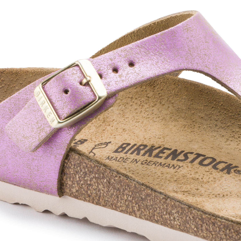 Birkenstock Gizeh Washed Metallic Pink