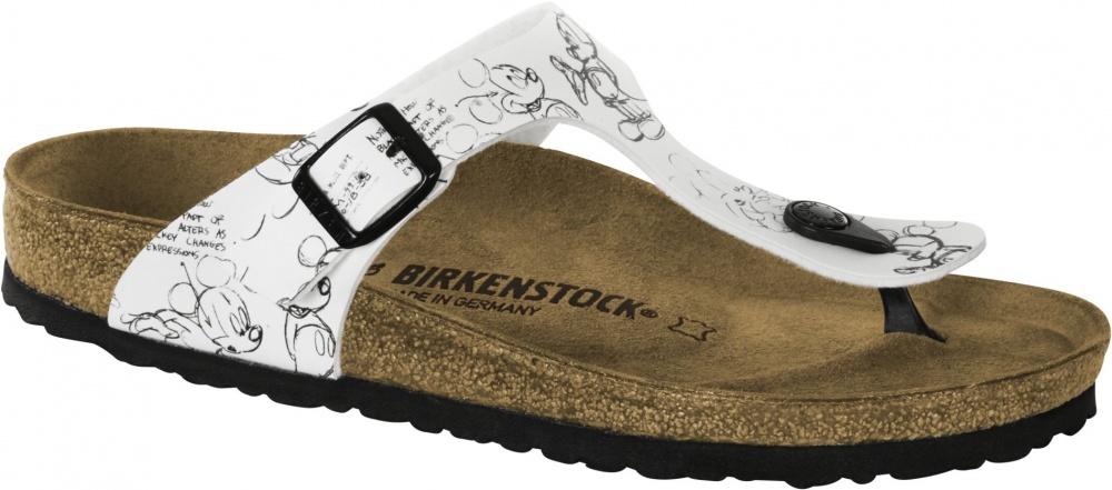 Birkenstock Gizeh Mickey Heritage 35-42 Black & White tamaño 35-42 Heritage FB normal & estrecho 3951ea